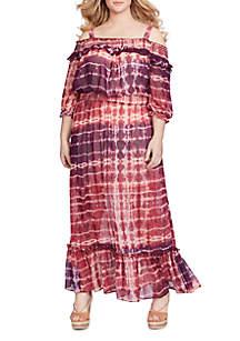 Dahlia Off-the-Shoulder Maxi Dress