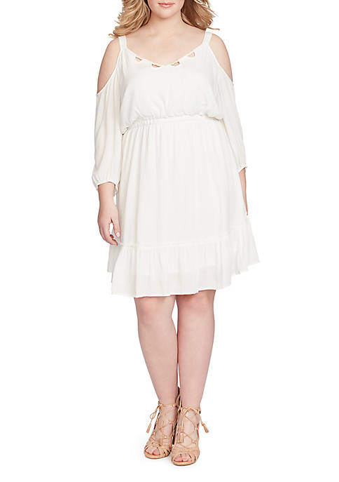 Jessica Simpson Elisa Cold Shoulder Dress