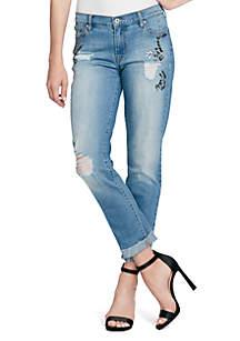 Mika Boyfriend Crystal Jeans