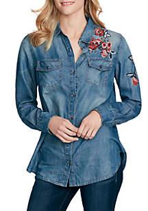 Pixel Tunic Shirt