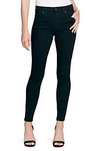 Jessica Simpson Curvy High Rise Black Jeans