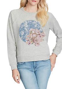 Kera Graphic Shooting Star Sweatshirt