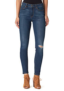 Adore High Rise Ankle Jeans
