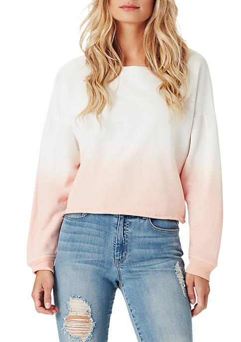 Jessica Simpson Dasha Dip Dye Sweatshirt