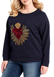 Plus Size Sasha Graphic Sweatshirt