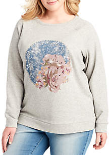 Plus Size Kera Graphic Sweatshirt