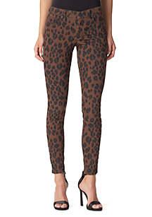 Kiss Me Skinny Python Print Jeans