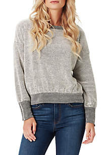 Geena Textured Sweatshirt