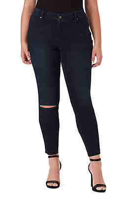 8c4879a4207 Jessica Simpson Plus Size Kiss Me Skinny Chain Tuxedo Jeans ...