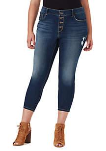 Jessica Simpson Plus Size Kiss Me Vintage Jeans