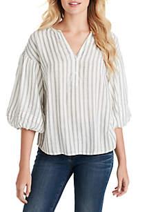 Jessica Simpson Sena Striped Top
