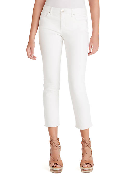 Jessica Simpson Arrow Straight Fray Ankle Jeans