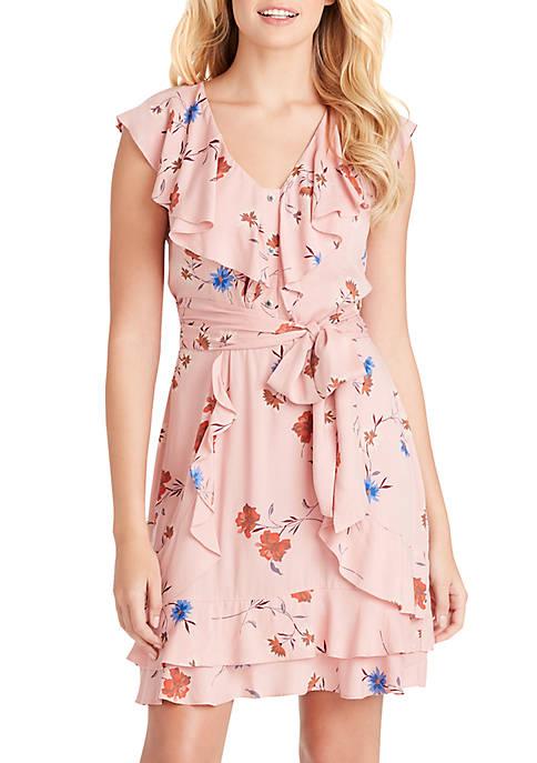 Nimah Floral Ruffle Dress