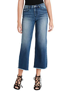 Jessica Simpson Adored Wide Leg Cropped Jeans