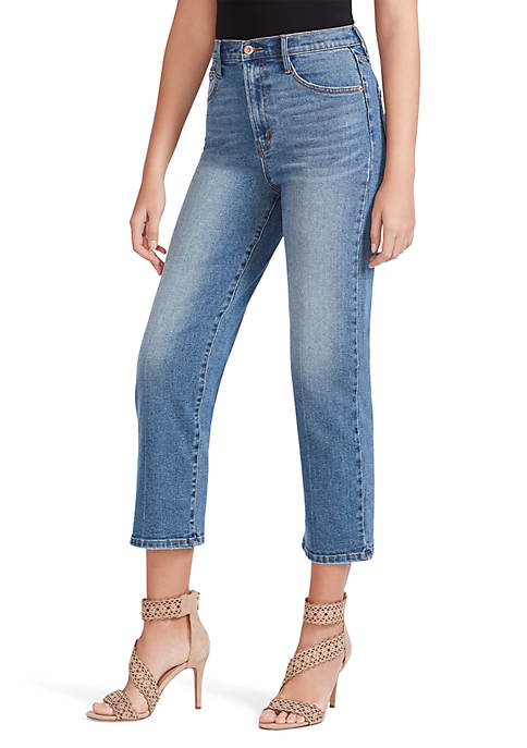 Jessica Simpson Infinite High Waisted Cropped Jeans