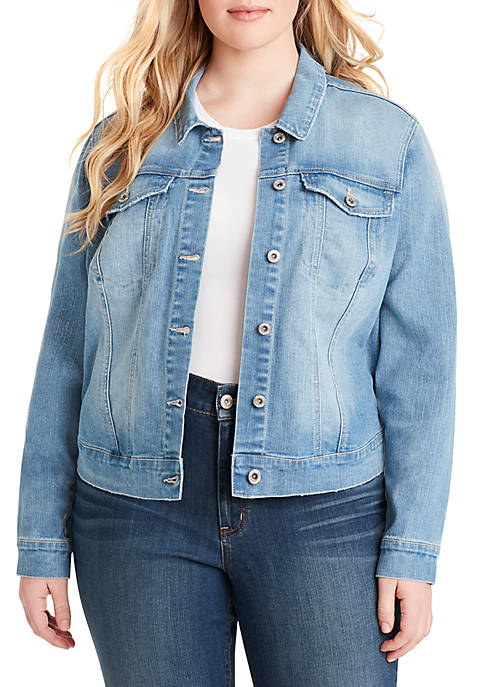 Jessica Simpson Plus Size Griding Pixie Jacket