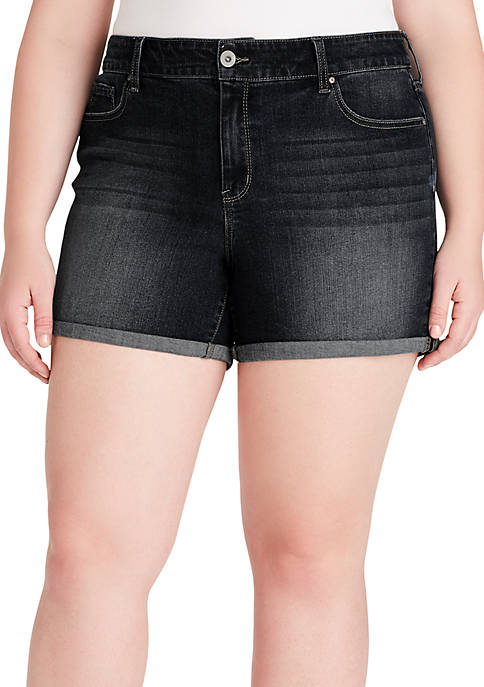 Plus Size Forever Rolled Shorts