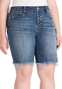 Jessica Simpson Plus Size Venice Shorts