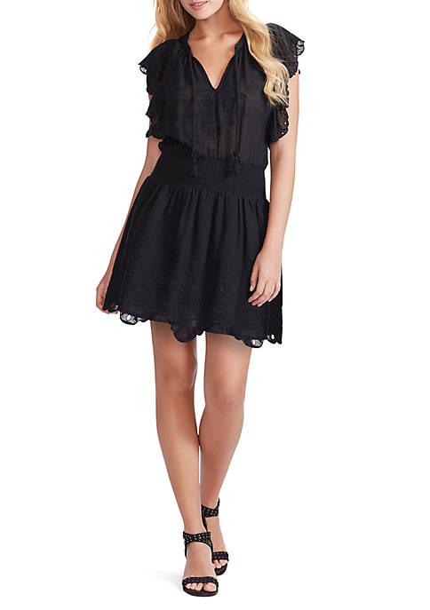 Jessica Simpson Wylla Schiffli Dress
