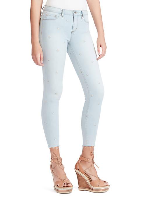 Jessica Simpson Kiss Me Lemon Skinny Jeans