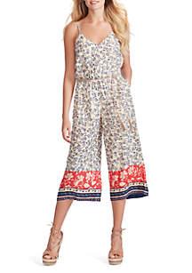 c1a3bda66 Jessica Simpson Breton Pop Weekender · Jessica Simpson Jackie Printed  Jumpsuit