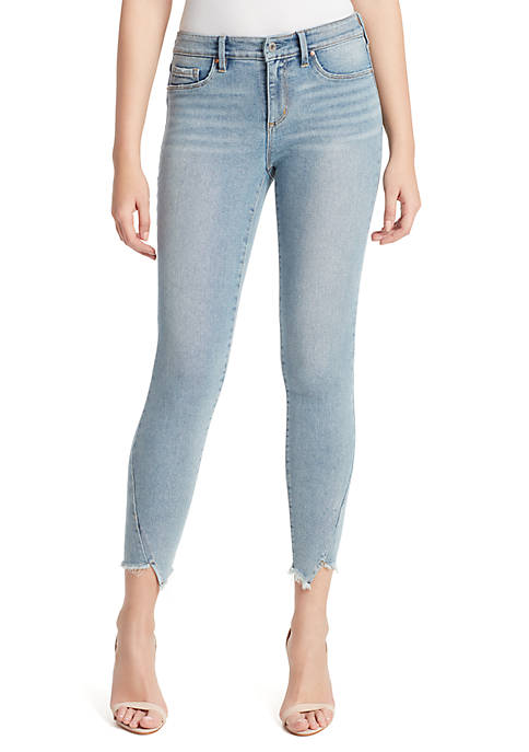 Kiss Me Ankle Skinny Jeans