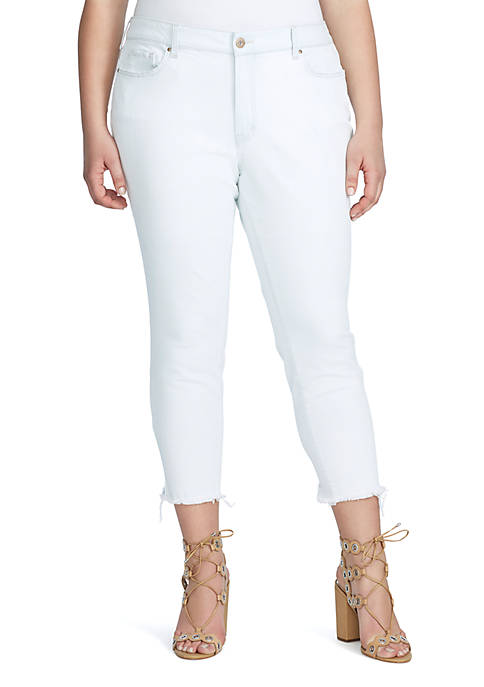 Curvy Adored Ankle Skinny Jeans