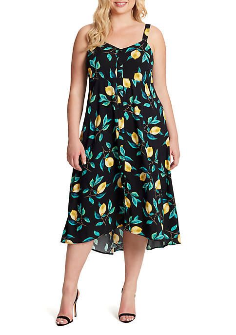 Plus Size Shana Midi Dress