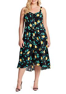 Jessica Simpson Plus Size Shana Midi Dress
