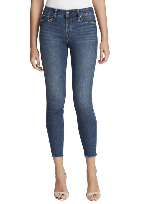 Jessica Simpson Womens Kiss Me Ankle Skinny Jeans