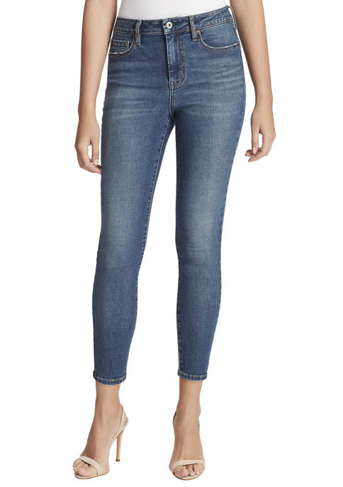 Jessica Simpson Womens Adored High Rise Ankle Skinny