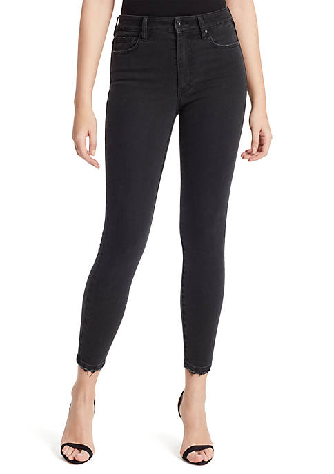 Jessica Simpson Reprieve High Rise Ankle Skinny Jeans