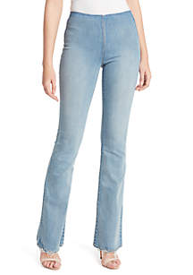 Jessica Simpson Pull On Flared Jeans
