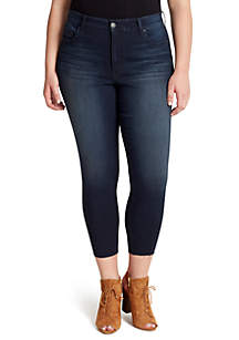 Jessica Simpson Curvy Adored High Rise Ankle Skinny Jeans