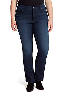 Jessica Simpson Curvy Truly Yours 5 Pocket Boot Cut Jeans