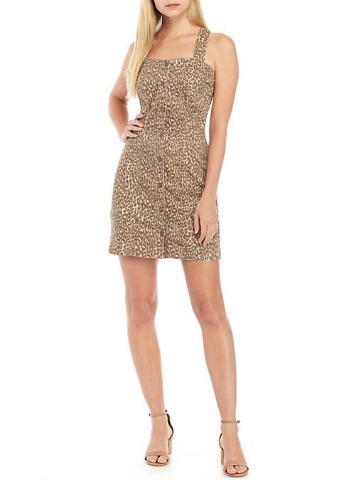 Jessica Simpson Taye Button Front Dress