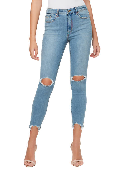 Adored High Rise Ankle Skinny Jeans