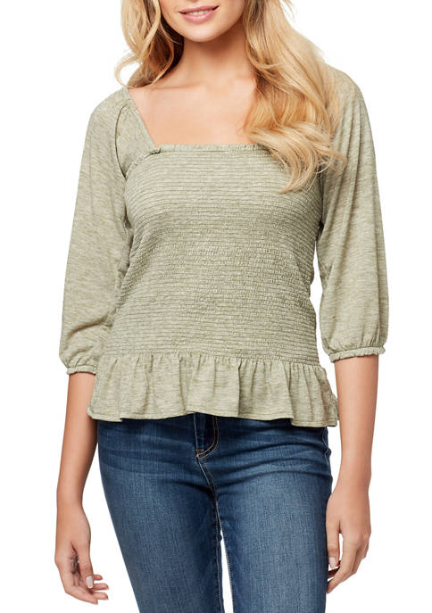 Sherrie Square Neck Top