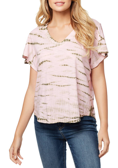 Carly Flutter Sleeve Top