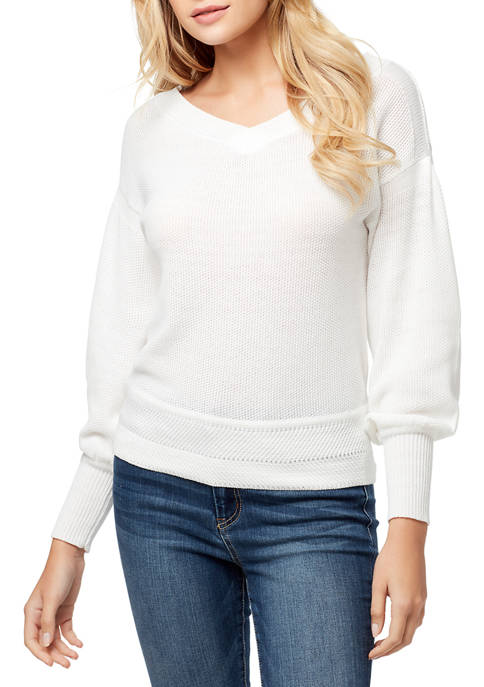 Jessica Simpson Corrin Dropped Shoulder Sweater
