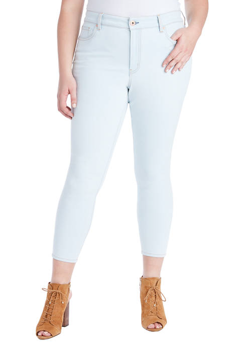 Curvy Adored High Rise Ankle Skinny Jeans