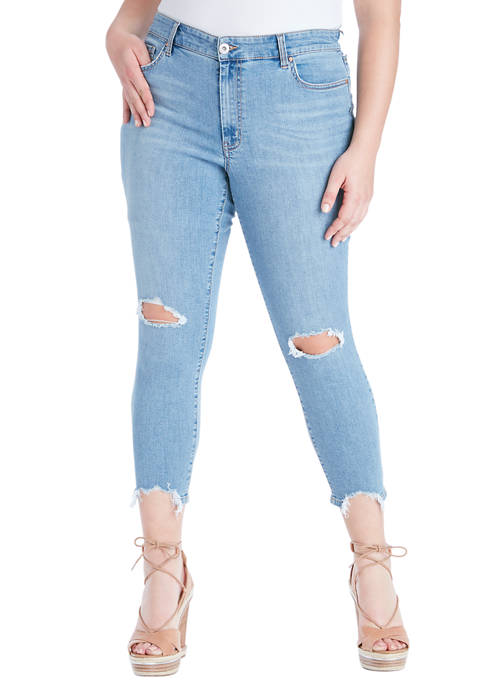 Jessica Simpson Curvy Adored High Rise Ankle Skinny
