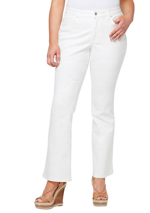 Plus Size Adored High Rise Flare Jeans