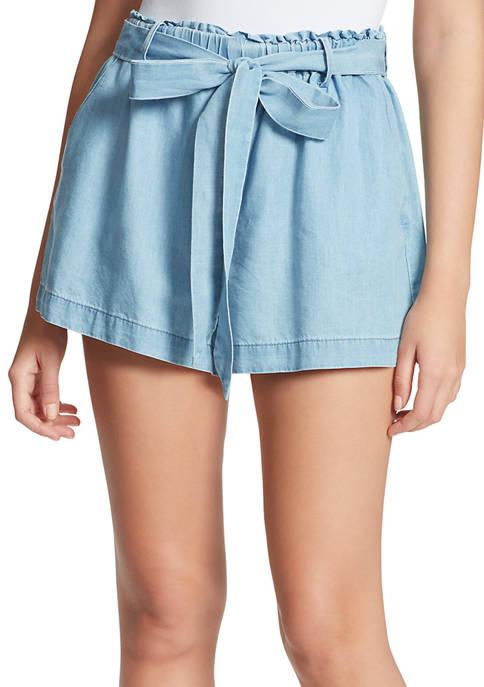 Jessica Simpson Shira Pull On Bow Shorts