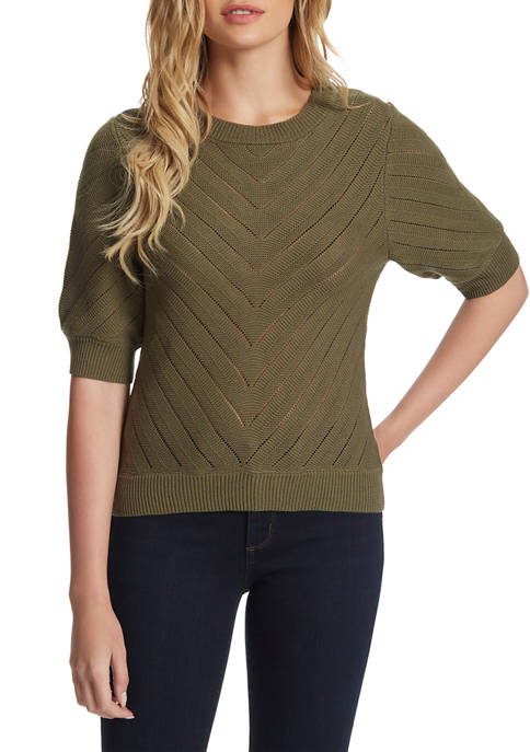 Faye Short Sleeve Sweater