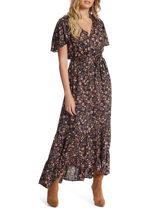 Jessica Simpson Floral Midi Dress
