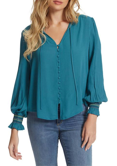 Jessica Simpson Presto Button Down Shirt