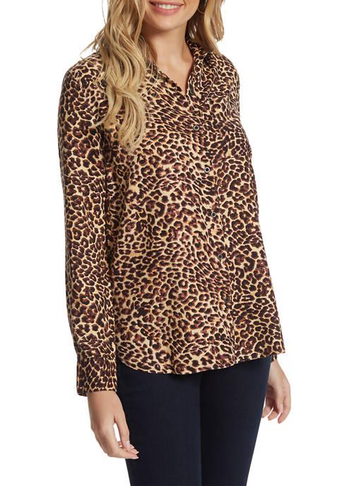 Jessica Simpson Petunia Button Down Shirt