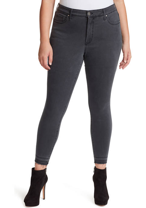 Plus Size Adored Ankle Skinny Jeans