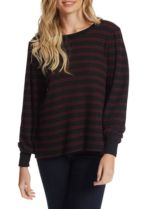 Wilder Waffle Knit Top